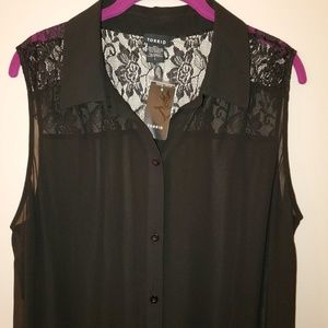 Torrid Lace Sheer Duster